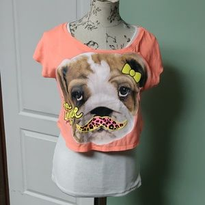 Girl's T-shirt size 18 with built in cami
